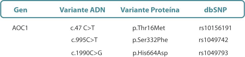 polimorfismos-gen-AOC1,-diamino-oxidasa-deficit-DAO-1