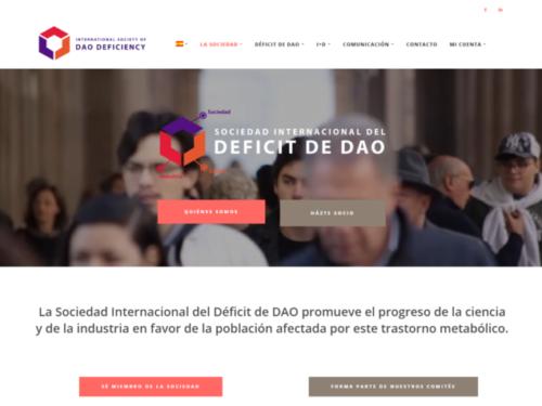 The International Society of DAO Deficiency estrena nueva web: benefíciate de sus novedades