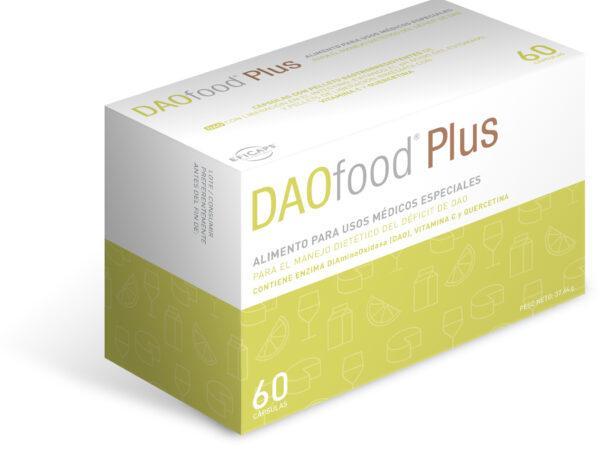 daofood plus, déficit de DAO, diamino oxidasa, histamina, intoleracia